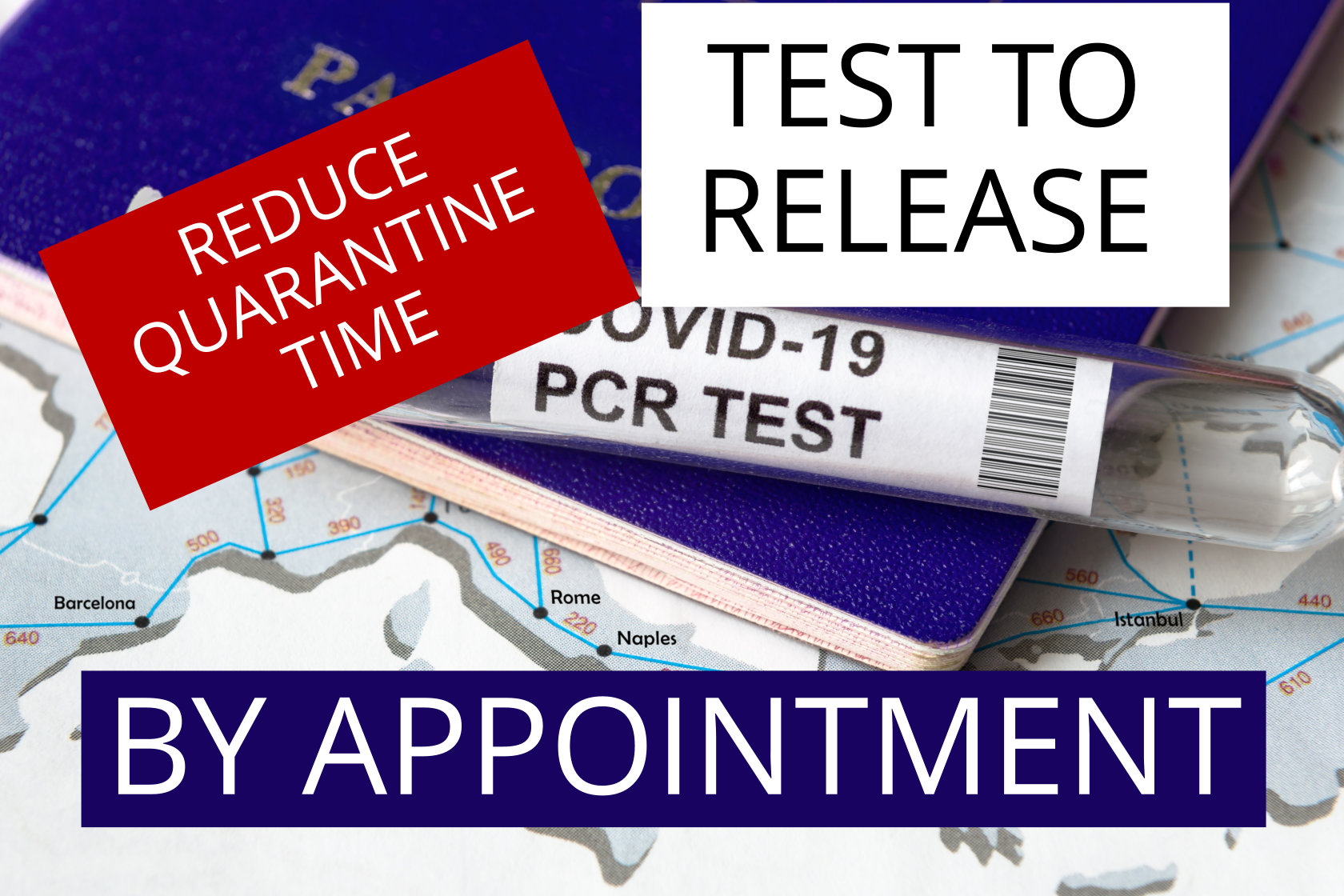 COVID-19 Test to Release - Reduce your travel self-isolation period